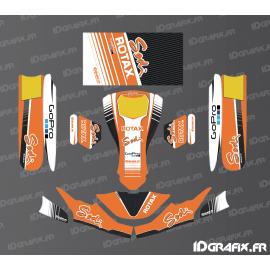 Kit de decoracion de la Carrera de Edición (Naranja) para el Karting de SodiKart -idgrafix