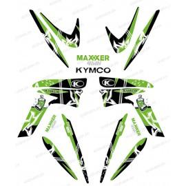 Kit décoration Street Vert - IDgrafix - Kymco 450 Maxxer