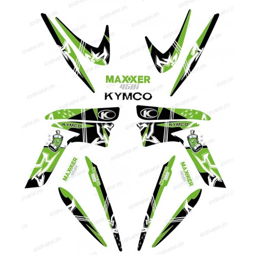 Kit decoration Street Green - IDgrafix - Kymco 450 Maxxer