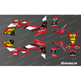 Kit de decoració 60è Yamaha Complet (Vermell) - IDgrafix - Yamaha YFZ 450 / YFZ 450R -idgrafix