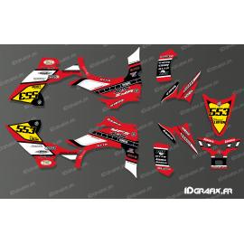 Kit de decoración de 60 Yamaha Completo (Rojo) - IDgrafix - Yamaha YFZ 450 / YFZ 450R