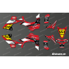 Kit décoration 60eme Yamaha Full (Rouge) - IDgrafix - Yamaha YFZ 450 / YFZ 450R