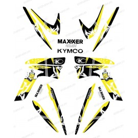 Kit decoration Street Yellow - IDgrafix - Kymco 450 Maxxer
