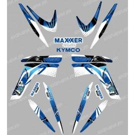 Kit decoration Space Blue - IDgrafix - Kymco 450 Maxxer