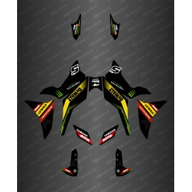 Kit decorazione Team Edition (Blu) - Yamaha MT-09 Tracer -idgrafix