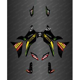 Kit dekor Team Edition (Blau) - Yamaha MT-09 Tracer -idgrafix