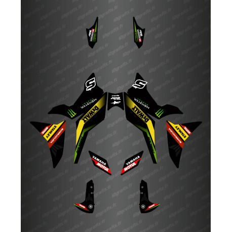 Kit décoration GP Black Series - Yamaha MT-09 Tracer-idgrafix