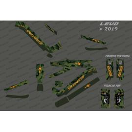 Kit-deco-Army Edition-Full (Grün) - Specialized-Levo (nach 2019)-idgrafix