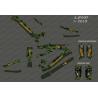 Kit deco Exèrcit Edició Completa (Verd) - Especialitzada Levo (després de 2019)