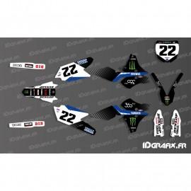 Kit de decoració Cooper Webb Rèplica - Yamaha YZ/YZF 125-250-450 -idgrafix