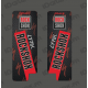 Stickers Protection Fourche RockShox LYRIK Carbon (Rouge)-idgrafix