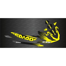 Kit decoration HexaSpeed Edition (Yellow) - Seadoo RXT-X 300