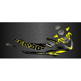 Kit décoration Monster Race Edition (Yellow) - Seadoo RXT-X 300