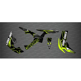 Kit décoration Maze Edition Full (Jaune Manta) - IDgrafix - Can Am Renegade-idgrafix