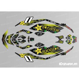 Kit de decoración de Rockstar Edición Azul para Seadoo GTR 230 -idgrafix