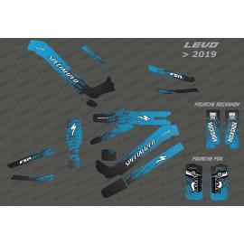 Kit déco Levo Edition Full (Bleu) - Specialized Levo (après 2019)-idgrafix