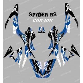 Kit dekor Street Blau - IDgrafix - Can-Am Spyder RS