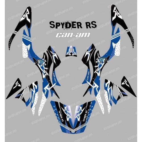 Kit decorazione Street Blu - IDgrafix - Can Am Spyder RS -idgrafix