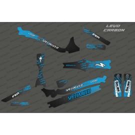 Kit deco Levo Edizione Completa (Blu)- Specializzata Levo Carbonio -idgrafix