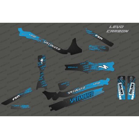 Kit deco Levo Edition Full (Blue)- Specialized Levo Carbon-idgrafix