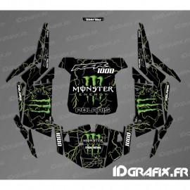 Kit décoration Monster 2018 Edition (vert)- IDgrafix - Polaris RZR 1000 Turbo