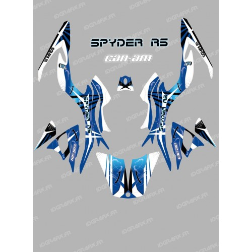 Kit decoration Space Blue - IDgrafix - Can Am Spyder RS