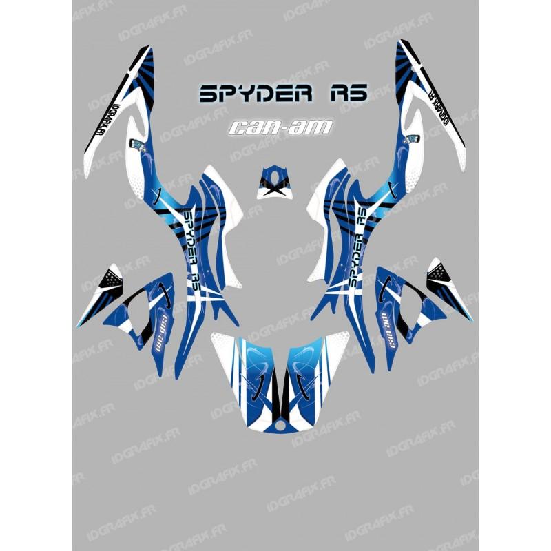 Kit décoration Space Bleu - IDgrafix - Can Am Spyder RS - Idgrafix