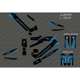 Kit deco GP Edició Completa (de color Blau) - Especialitzada Levo (després de 2019) -idgrafix