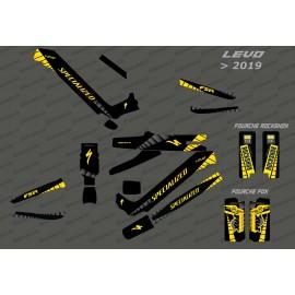 Kit déco GP Edition Full (Jaune) - Specialized Levo (après 2019)-idgrafix