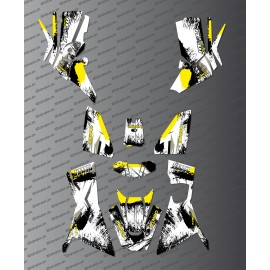 Kit Deco OSpeed edition Full (Yellow) - Kymco 700 MXU (after 2019)-idgrafix