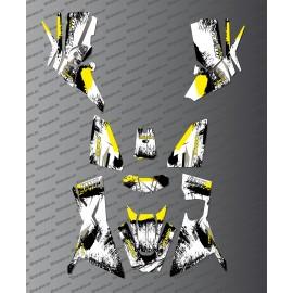 Kit Deco OSpeed edition Full (Yellow) - Kymco 700 MXU (after 2019) - IDgrafix