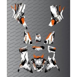 Kit-Deco-OSpeed edition Full (Orange) - Kymco 700 MXU (nach 2019)-idgrafix