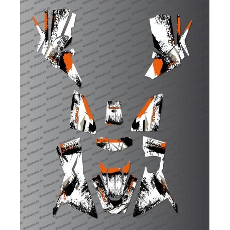 Kit Deco OSpeed edition Full (Orange) - Kymco 700 MXU (after 2019)-idgrafix