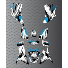 Kit Deco OSpeed edition Full (Blue) - Kymco 700 MXU (after 2019) - IDgrafix