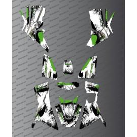 Kit Deco OSpeed edizione Completa (Verde) - Kymco MXU 700 (dopo il 2019) -idgrafix