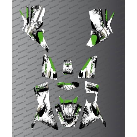 Kit Deco OSpeed edition Full (Green) - Kymco 700 MXU (after 2019)-idgrafix
