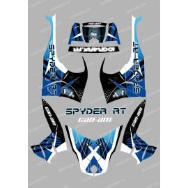 Kit décoration Weapon Bleu - IDgrafix - Can Am Spyder RT