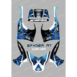 Kit dekor Space Blau - IDgrafix - Can-Am Spyder RT
