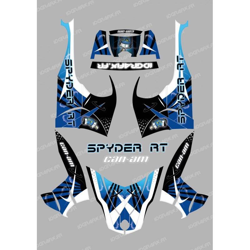 Kit décoration Space Bleu - IDgrafix - Can Am Spyder RT