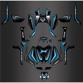 Kit di decorazione, Completa X Edizione Limitata (Blu ottani) - IDgrafix - Can Am Outlander G2 -idgrafix