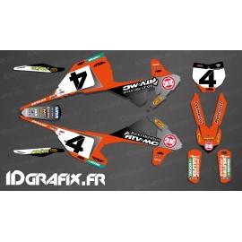 Kit deco Blake Baggett Replikat 2019 - KTM SX - SXF-idgrafix