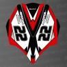 Kit de decoració Cobrir AV Vermell LTD per a Kawasaki Ultra 250/260/300/310R