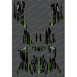Kit Deco Monster edition Full (Green) - Kymco 700 MXU (after 2019) - IDgrafix