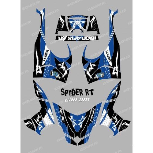 Kit dekor Street Blau - IDgrafix - Can-Am Spyder RT -idgrafix