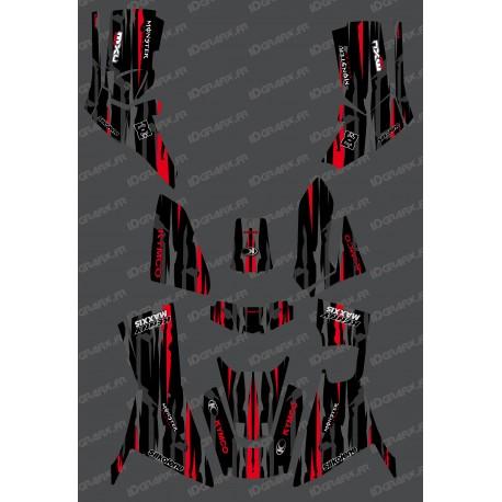 Kit Deco Monstre edició Completa (Vermell) - Kymco 700 MXU (després de 2019) -idgrafix