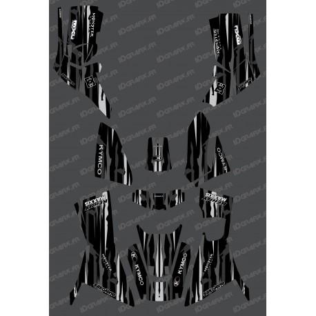 Kit Deco Monstre edició Completa (color Gris) - Kymco 700 MXU (després de 2019) -idgrafix