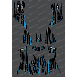 Kit Deco Monster edition Full (Blue) - Kymco 700 MXU (after 2019) - IDgrafix