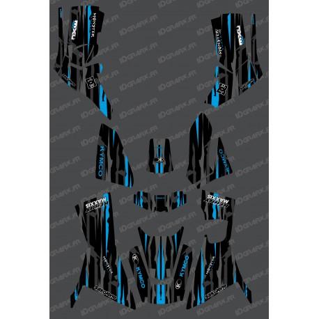Kit Deco Monster edition Full (Blue) - Kymco 700 MXU (after 2019)-idgrafix
