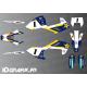 Kit deco Graham Jarvis Rèplica (Blau) - Husqvarna TC - TE-FC -idgrafix
