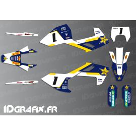 Kit deco Graham Jarvis Réplica (Bleu) - Husqvarna TC - TE -FC-idgrafix